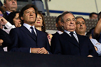 Real Madrid's President Florentino Perez (r) during La Liga match. August 20,2017. (ALTERPHOTOS/Acero)<br /> Deportivo La Coruna - Real Madrid <br /> Liga Campionato Spagna 2017/2018<br /> Foto Alterphotos / Insidefoto <br /> ITALY ONLY