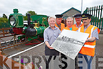 A Gathering reunion with a difference for families of the workers of the Lartigue Monorail will take place in Listowel on August 9th at 7pm. Pictured were: Gerry Perkins, John Daly, Mike O'Sullivan, Brendan Kenny and Martin Griffin.
