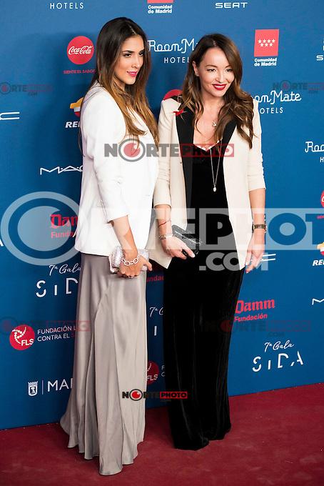 Daniela Ospina and Ana Antic attends to the photocall of the Gala Sida at Palacio de Cibeles in Madrid. November 21, 2016. (ALTERPHOTOS/Borja B.Hojas) //NORTEPHOTO.COM