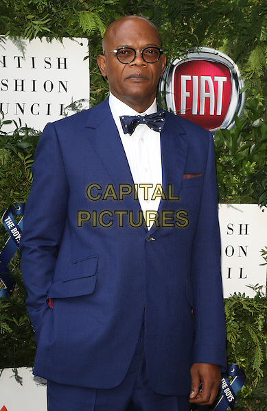Samuel L Jackson at the One For The Boys Charity Ball, Victoria and Albert Museum, London on June 12th 2016<br /> CAP/ROS<br /> &copy;Steve Ross/Capital Pictures