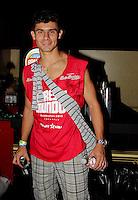 SAO PAULO, SP, 19 DE FEVEREIRO 2012 - CAMAROTE BAR BRAHMA - O jogador do Corinthians Alex e visto no Camarote Bar Brahma, no primeiro dia de desfiles do Grupo Especial do Carnaval de Sao Paulo, na madrugada deste domingo 19, no Sambodromo do Anhembi regiao norte da capital paulista. (FOTO: MILENE CARDOSO - BRAZIL PHOTO PRESS).