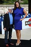 Motorsports / Formula 1: World Championship 2008, GP of Monaco , Amber Fashion Show, . Bernie Eccelstone (F1 Organisator) and his wife Slavica
