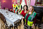 Kilcooly's Country House, Ballybunion Launch Guess the Chef Launch in aid of Ballybunion First Responders on Friday 27th January 7.30pm Front l-r Joan O'Connor, Kilcooly's Country House, and Isabella O' Mahony, coordinator Ballybunion First Responders, Back First Responders Emmett Lynch, TJ McCarronn, David Walsh and Liam Mulvihill
