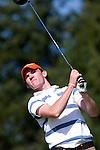 DEN DOLDER - Tim Sluiter, die als tweede eindigde, tijdens het NK Strokeplay golf op Golfsocieteit  De Lage Vuursche. COPYRIGHT KOEN SUYK