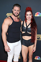 "LOS ANGELES - OCT 21:  Billy England, Emily England at the ""America's Got Talent - Champions"" Finalist Red Carpet at the Sheraton Pasadena Hotel on October 21, 2019 in Pasadena, CA"