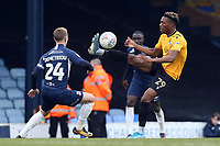 Timmy Abraham of Bristol Rovers and Jason Demetriou of Southend United during Southend United vs Bristol Rovers, Sky Bet EFL League 1 Football at Roots Hall on 7th March 2020