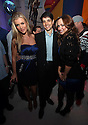 ** EXCLUSIVE ** Joanna Krupa, Ralph Macchio and Karina Smirnoff poses for a picture at Perez Hilton's Blue Ball birthday celebration Saturday March 26, 2011, in the Hollywood section of Los Angeles. (Donald Traill/AP Images)