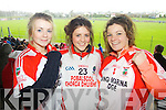 Photo Brendan Gleeson.<br /> Aisling Barrett, Niamh Galvin and Brid Sayers.