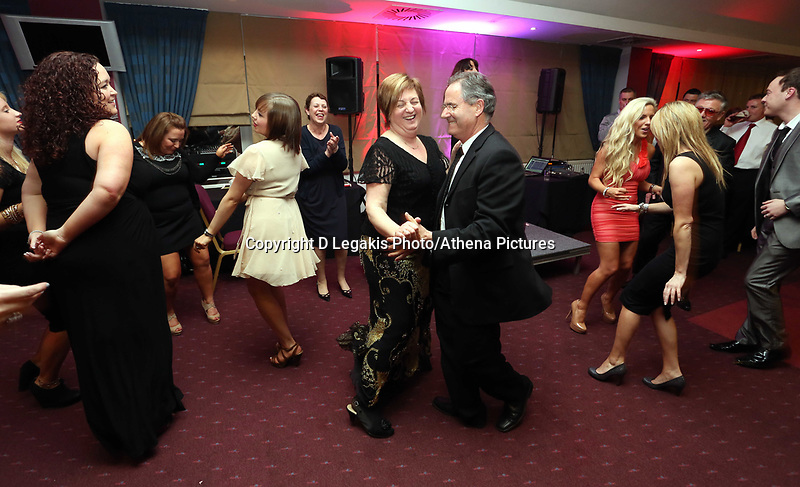 Pictured: The parents of Angel Rangel (C) dancing. Wednesday 10 April 2013<br />