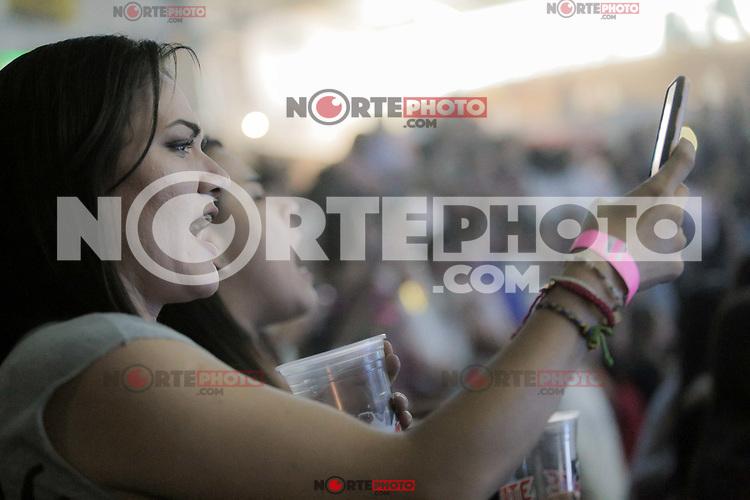 Marisol Soto. Yuridia en el palenque de la Expogan Sonora 2019. <br /> (Foto: Luis Gutierrez/NortePhoto)