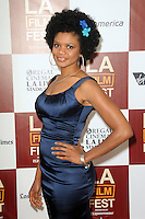 Kimberly Elise at Film Independent's 2012 Los Angeles Film Festival Premiere of AFFRM & Participant Media's 'Middle Of Nowhere' at Regal Cinemas L.A. Live on June 20, 2012 in Los Angeles, California. © mpi35/MediaPunch Inc. NORTEPOTO.COM<br />