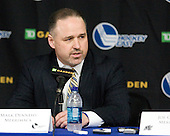 Mark Dennehy (Merrimack - Head Coach0 - The Merrimack College Warriors defeated the University of New Hampshire Wildcats 4-1 (EN) in their Hockey East Semi-Final on Friday, March 18, 2011, at TD Garden in Boston, Massachusetts.