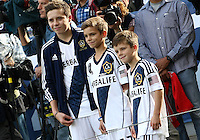 CARSON, CA - DECEMBER 01, 2012:  Sons of the Los Angeles Galaxy player  David Beckham (23) during the 2012 MLS Cup at the Home Depot Center, in Carson, California on December 01, 2012. The Galaxy won 3-1.