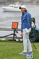 Tommy Fleetwood (ENG) watches his tee shot on 7 during round 2 of the 2019 US Open, Pebble Beach Golf Links, Monterrey, California, USA. 6/14/2019.<br /> Picture: Golffile | Ken Murray<br /> <br /> All photo usage must carry mandatory copyright credit (© Golffile | Ken Murray)