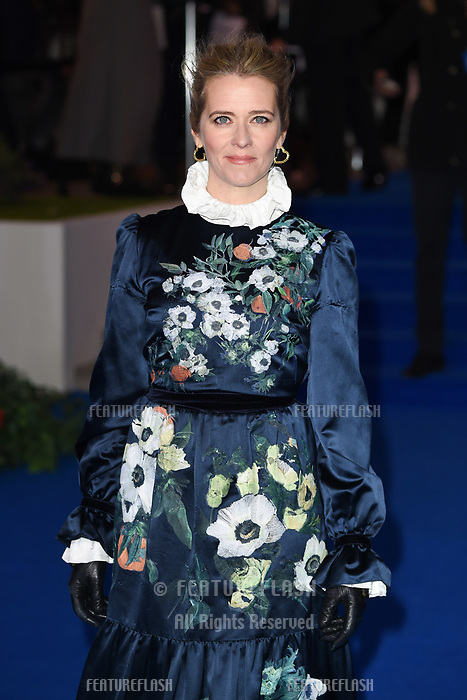 LONDON, UK. December 12, 2018: Edith Bowman at the UK premiere of &quot;Mary Poppins Returns&quot; at the Royal Albert Hall, London.<br /> Picture: Steve Vas/Featureflash