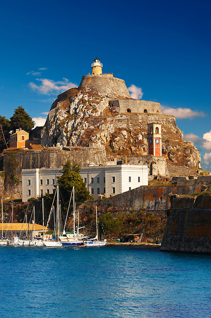 The old citadel [ ?????? ??????? ] Corfu City, Greek Ionian Islands