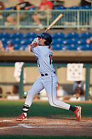 Mahoning Valley Scrappers Raynel Delgado (15) bats during a NY-Penn League game against the Hudson Valley Renegades on July 15, 2019 at Eastwood Field in Niles, Ohio.  Mahoning Valley defeated Hudson Valley 6-5.  (Mike Janes/Four Seam Images)