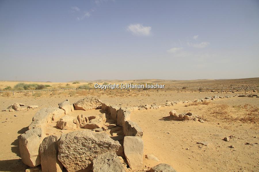 Israel, Arava, the Leopard Temple in Ovda valley