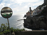 Winding roads of the Amalfi Coast