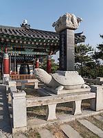buddhistischer Tempel Naksan Sa bei Sokcho, Provinz Gangwon, Südkorea, Asien<br />  buddhistic temple Naksan sa near Sokcho, province Gangwon, South Korea, Asia