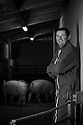 23/12/16 - JUNHAC - CANTAL - FRANCE - Portrait de Jean Marc MALVEZIN -Photo Jerome CHABANNE