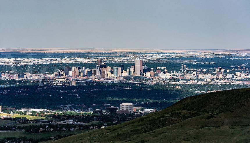 Panoramic Denver skyline, Colorado, USA