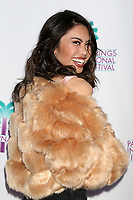 "PALM SPRINGS - JAN 3:  Ashley Argota at the PSIFF ""Cover Versions"" Screening at Camelot Theater on January 3, 2018 in Palm Springs, CA"