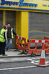 Shop Street Road Works..Photo NEWSFILE/Jenny Matthews.(Photo credit should read Jenny Matthews/NEWSFILE)....This Picture has been sent you under the condtions enclosed by:.Newsfile Ltd..The Studio,.Millmount Abbey,.Drogheda,.Co Meath..Ireland..Tel: +353(0)41-9871240.Fax: +353(0)41-9871260.GSM: +353(0)86-2500958.email: pictures@newsfile.ie.www.newsfile.ie.FTP: 193.120.102.198.