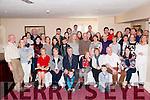 Family Gathering : The grand children & great grand children of Edward O'Sullivan & Hannie Barrett, Listowel pictured at their family gathering at the Listowel Arms Hotel on Saturday afternoon last.