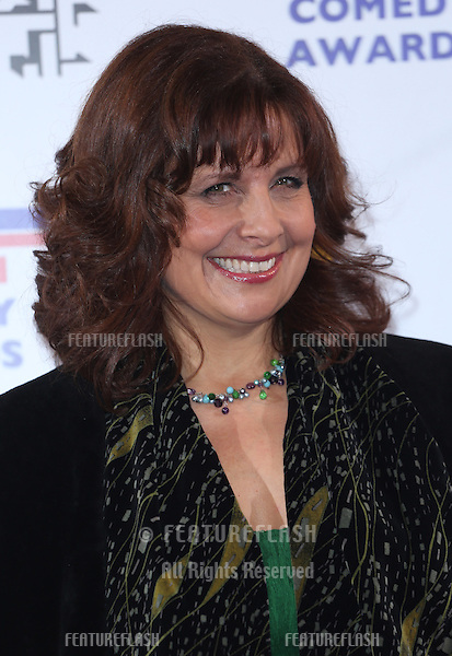 Rebecca Front arriving for The British Comedy Awards 2013 held at Fountain Studios, London. 12/13/2012 Picture by: Henry Harris / Featureflash