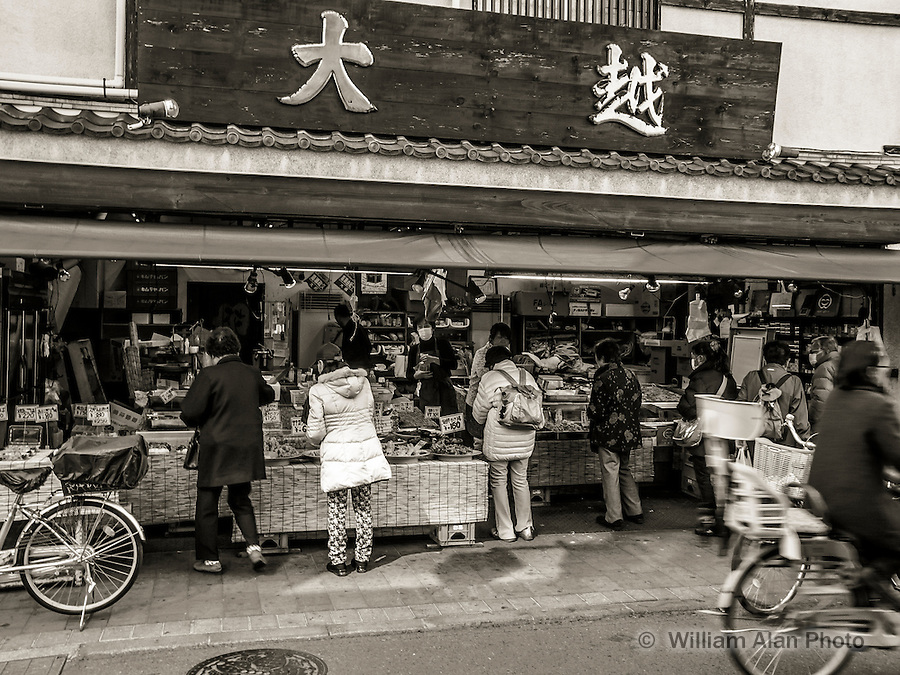 Tempura Market in Ota, Japan 2014.