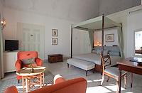 Hotel room in Sidi Bou Said, Tunisia