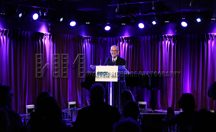 on stage during the Second Annual SDCF Awards, A celebration of Excellence in Directing and Choreography, at the Green Room 42 on November 11, 2018 in New York City.