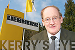 Tom Foley outside Liebherr on Tuesday   Copyright Kerry's Eye 2008