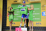 Marcel Kittel (GER) Quick-Step Floors wins Stage 2 and takes over the points Green Jersey of the 104th edition of the Tour de France 2017, running 203.5km from Dusseldorf, Germany to Liege, Belgium. 2nd July 2017.<br /> Picture: Eoin Clarke | Cyclefile<br /> <br /> <br /> All photos usage must carry mandatory copyright credit (&copy; Cyclefile | Eoin Clarke)