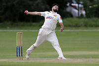 Pratik Patel of Crouch End during Crouch End CC (fielding) vs Waltham CC, ECB National Club Championship Cricket at The Calthorpe Ground on 9th June 2019