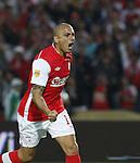 Independiente Santa Fe  1-1  Millonarios en la liga ostobon del futbol colombiano