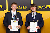 Boys Gymsports finalists Samuel Clarke and Michael Summers. ASB College Sport Young Sportsperson of the Year Awards held at Eden Park, Auckland, on November 24th 2011.