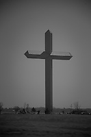 Largest free standing Cross in America at 19 stories (CROSS OF OUR LORD JESUS CHRIST MINISTRIES)