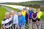 Getting ready for the Kerry's Eye Tralee international Marathon from left: Jim O'Gorman, Sports Editor Kerry's Eye, Brendan Kennelly, Marketing Manager, Kerry's Eye, Marcus Howlett Race Director, Francie Houlihan, Jerry Sullivan, Sibead Kelleher, Brian Hayden, Moire Horgan and Jim McNeice.