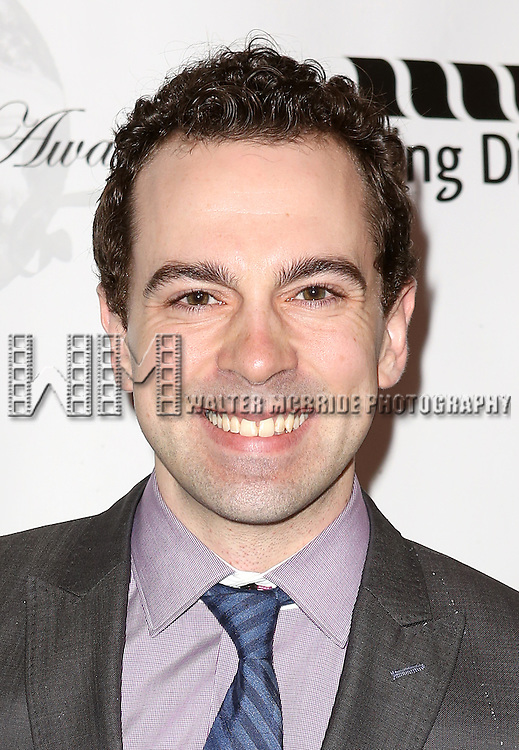 Rob McClure attending the 69th Annual Theatre World Awards at the Music Box Theatre in New York City on June 03, 2013.
