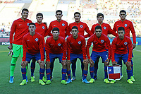 2nd November 2019; Kleber Andrade Stadium, Cariacica, Espirito Santo, Brazil; FIFA U-17 World Cup Brazil 2019, Chile versus Korea Republic; Players of Chile poses for oficial photo