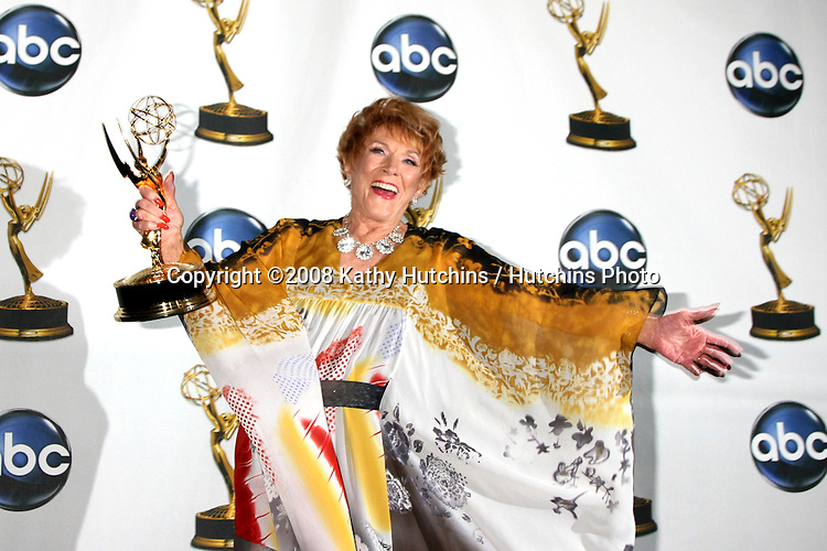 "Jeanne Cooper  in the Press Room after Winning a emmy for ""Outstanding Leading Actress""  at  the.Daytime Emmys 2008 at the Kodak Theater in Hollywood, CA on.June 20, 2008.©2008 Kathy Hutchins / Hutchins Photo ."