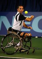 18-11-07, Netherlands, Amsterdam, Wheelchairtennis Masters 2007, Robin Ammerlaan