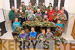 Boys from the Mitchel's Youth KDYS Project handed over the Christmas wreaths they made for residents of Baile Mhuire on Thursday evening.