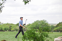 Jimmy Walker (USA) watches his second shot on 8 during round 2 of the Valero Texas Open, AT&amp;T Oaks Course, TPC San Antonio, San Antonio, Texas, USA. 4/21/2017.<br /> Picture: Golffile | Ken Murray<br /> <br /> <br /> All photo usage must carry mandatory copyright credit (&copy; Golffile | Ken Murray)