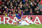 Barcelona's Pedro Rodriguez during Champions League match. March 17, 2010. (ALTERPHOTOS/Tati Quinones)
