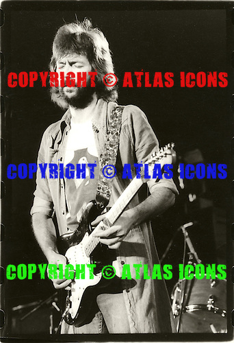 ERIC CLAPTON; EC, JOHN MAYALL, CREAM, YARDBIRDS, BLIND FAITH, DELANY AND BONNIE,  DEREK AND THE DOMINOS