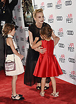 HOLLYWOOD, CA - NOVEMBER 09: Actors Carey Mulligan, Elizabeth Windley and Piper Blair attend the screening of Netflix's 'Mudbound' at the Opening Night Gala of AFI FEST 2017 presented by Audi at TCL Chinese Theatre on November 9, 2017 in Hollywood, California.