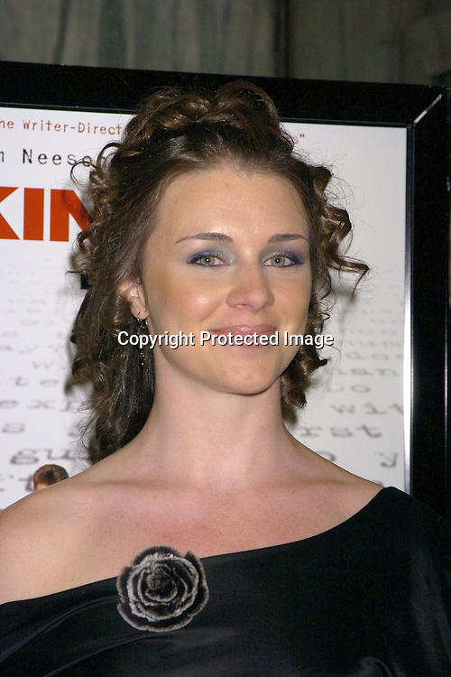 "Leigh Spofford ..at the New York Premiere of ""Kinsey"" on November 10, 2004 at the Beekman Theatre.                                            Photo by Robin Platzer, Twin Images"
